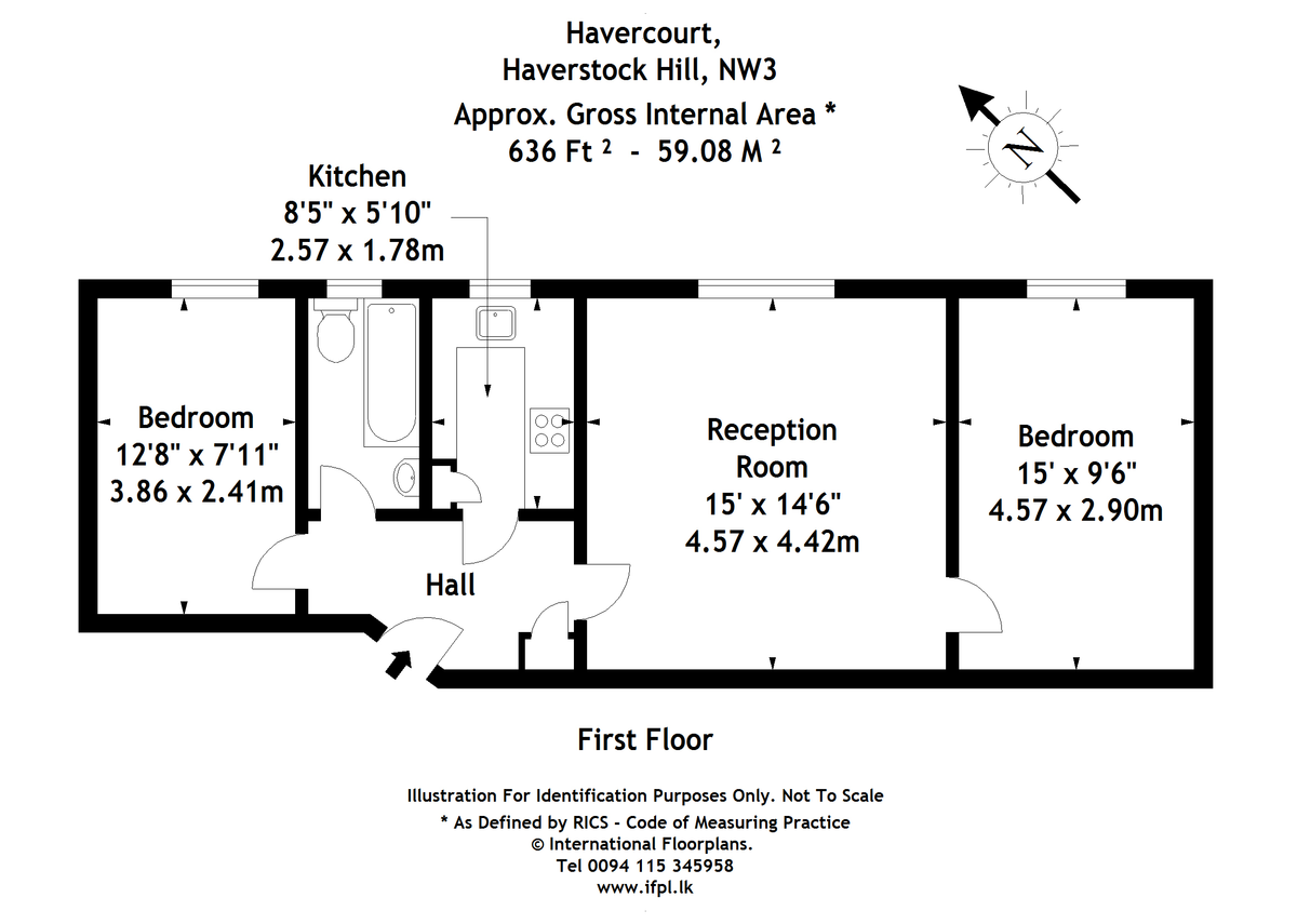 Floorplans For Haverstock Hill, London